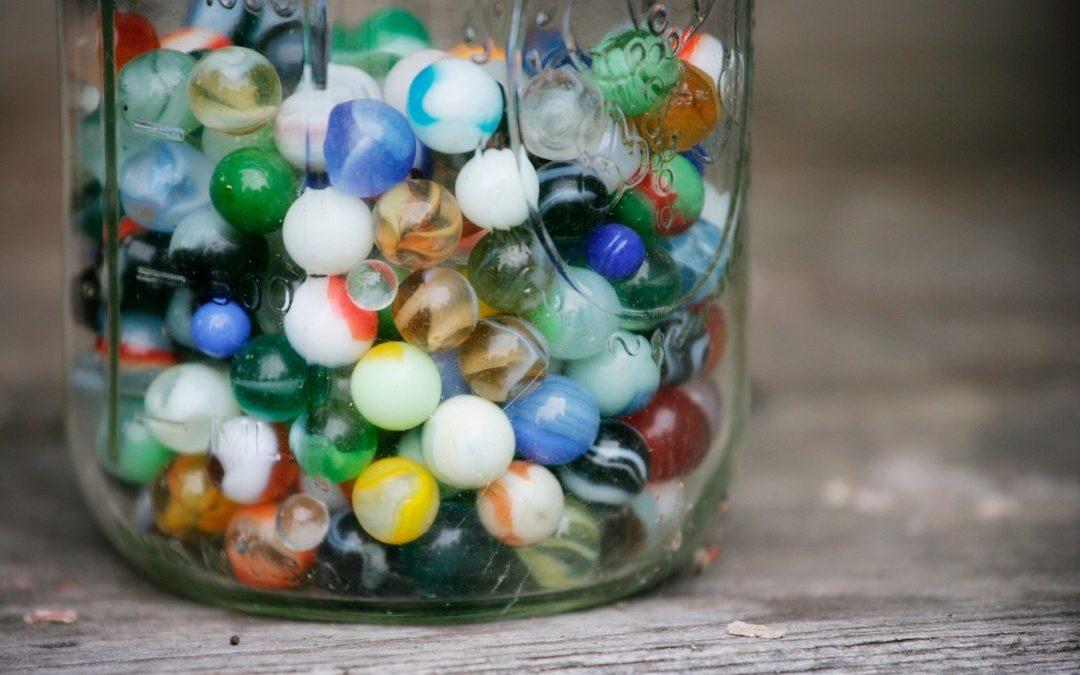 Full jar or Empty jar of marbles???